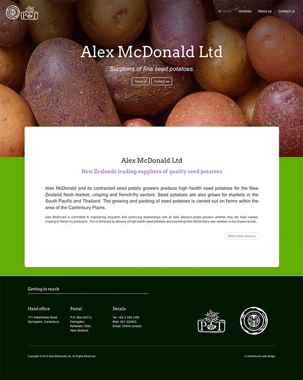 Alex McDonald Limited