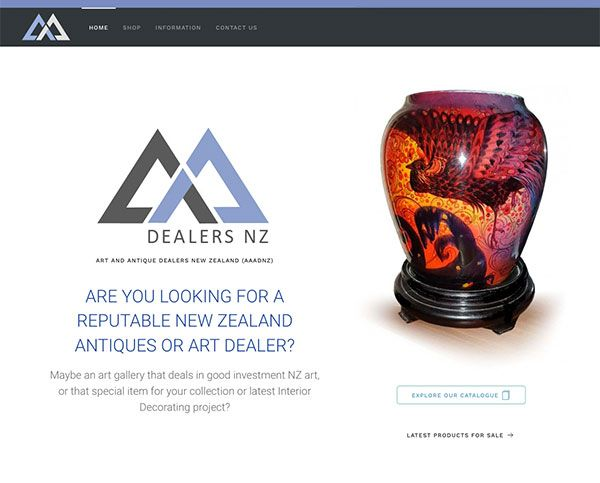 Art and Antique Dealers New Zealand